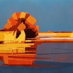Etsen en schilderijen van Marcel Schellekens en Frank Dekkers